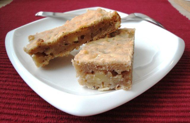Recept na špaldový koláč s jablky