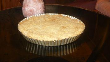 FOTO: Drobenkový jablečný koláč