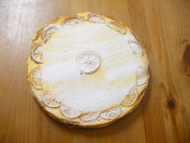 FOTO: Tvarohovo-citronový koláč