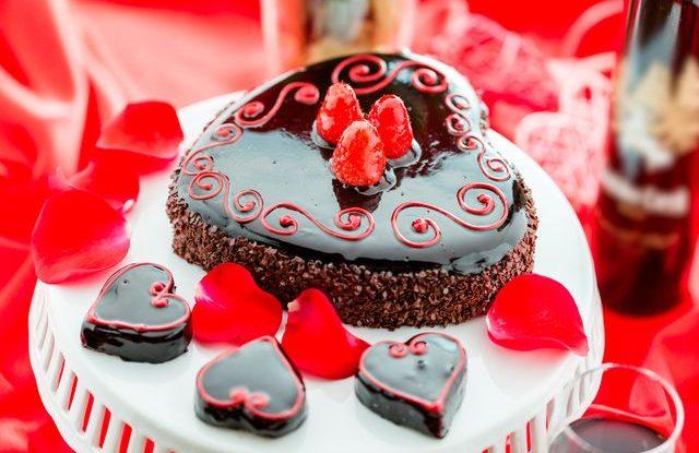 Recept na valentýnský dort