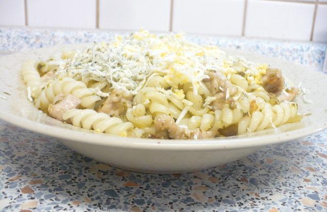 FOTO: Těstoviny s vepřovým masem