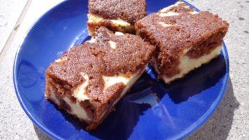 Recept na kakaovotvarohový koláč