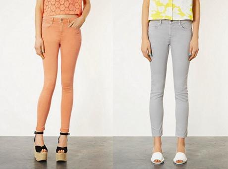 Jaký tvar kalhoty je pro vás ten pravý? Zdroj: Topshop.com