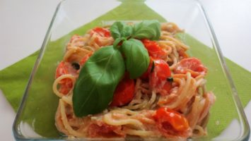 Recept na těstoviny s ricottou