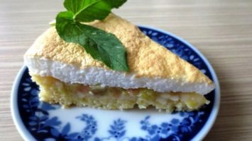 Recept na koláč s rebarborou