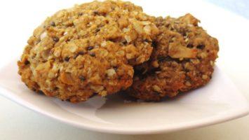 Recept na sušenky z ovesných vloček