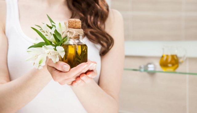 péče o vlasy, vlasové zábaly z olejů