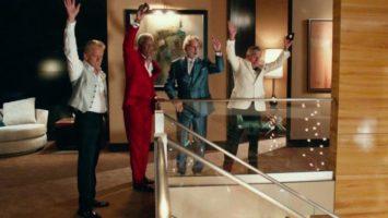 FOTO: Michael Douglas Morgan Freeman Kevin Kline Robert De Niro Last Vegas