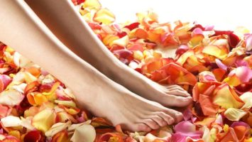 nohy-kvetiny-vune eterické oleje