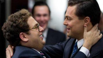 FOTO: Jonah Hill Leonardo DiCaprio Wolf of Wall Street