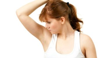Pocení v podpaží deodorant