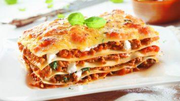Recept na lasagne