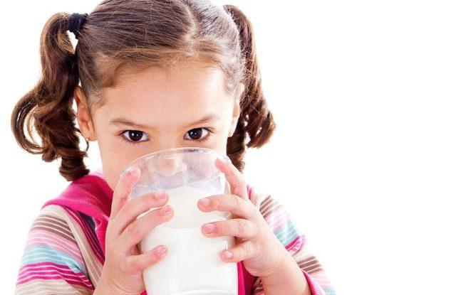 Alergie na mléko u dětí