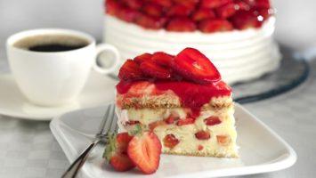 Recept na jahodový dort