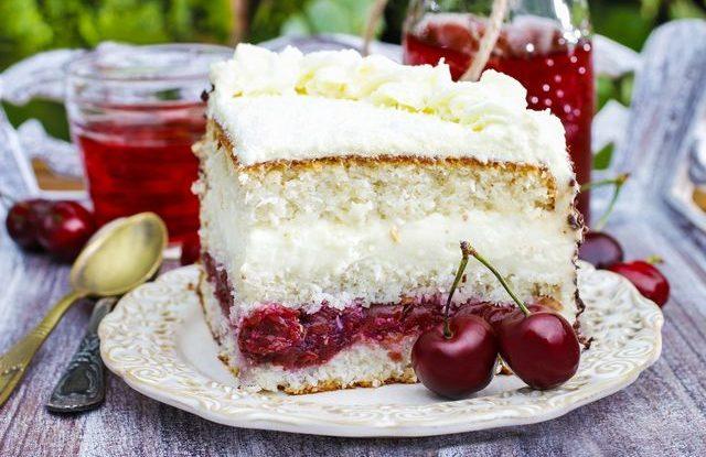 Recept na třešňový dort