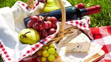 jídlo na piknik