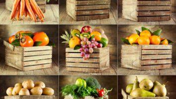 Rizika vegetariánství, Jak skladovat ovoce