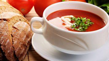 Recept na rajčatovou polévku