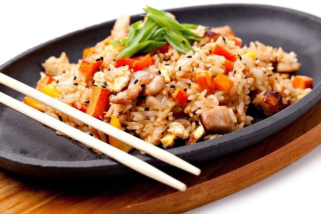 Recept na smaženou rýži