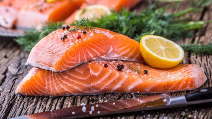 Proč jíst lososa, losos zdraví