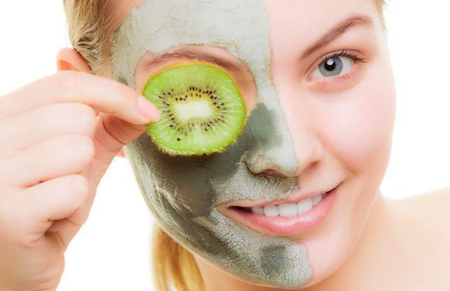 ovocné kyseliny na pleť, pleťová maska