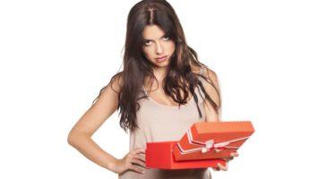 Nejhorší dárky pro ženy