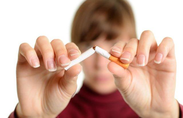 kouření krok za krokem