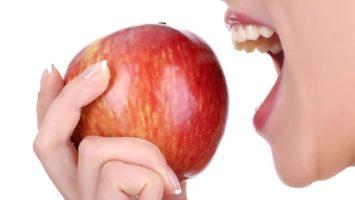 Proč jíst jablka, Zdravé zuby bez zubního kazu