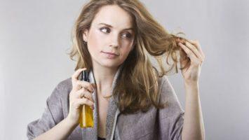 Co na roztřepené konečky vlasů, Arganový olej na zničené vlasy