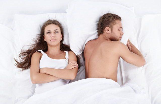 Nymfomanky, proč muži usínají po sexu