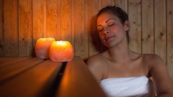 Sauna při nachlazení, saunování