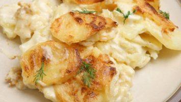 Recept na Smetanove brambory