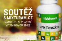 Soutěž o 3 vouchery na namíchání vlastní vitamínové směsi MIXTURAM.cz