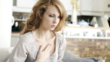 Bolest na hrudi, Příznaky onemocnění srdce