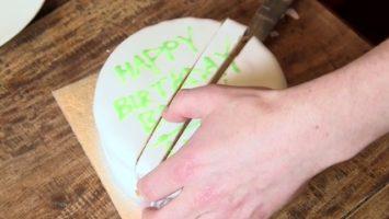 FOTO: Krájení dortu