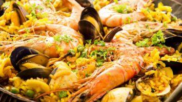 FOTO: Paella pravy recept