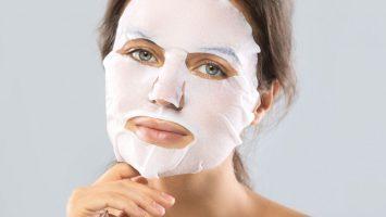 Pleťová maska z bílku a ubrousku