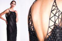 FOTO: Návrhářka stvořila nádherné oděvy pomocí 3D tiskárny. Představí je v Praze