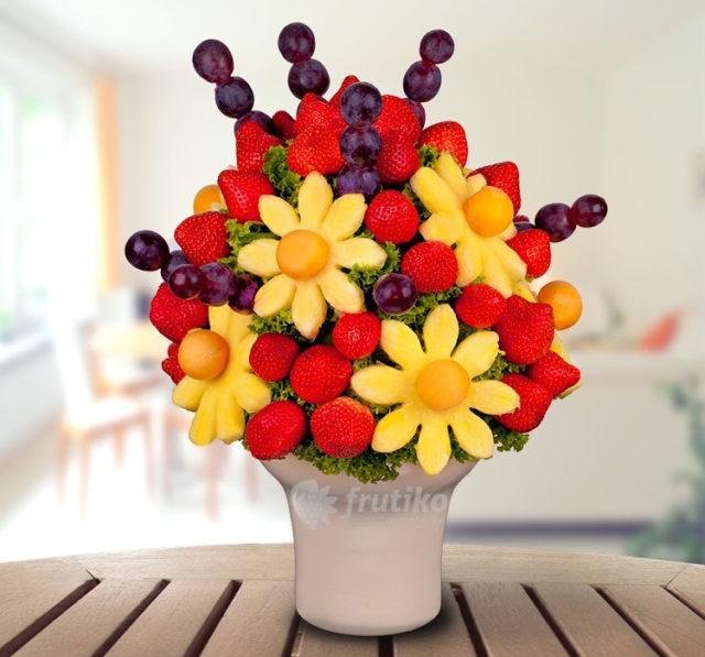Ovocná jedlá kytice Frutiko