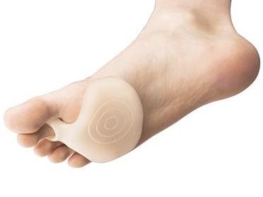 Silikonový polštářek na chodidla