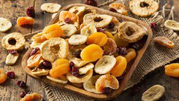 Jak sušit ovoce