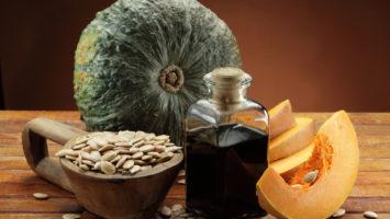 Olej z dýňových semínek na vlasy