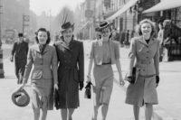 Jak vypadala móda 40. let