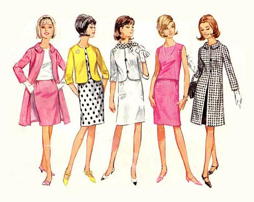Twiggy Fashion Style Sketches