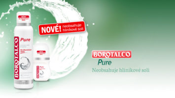 Borotalco Pure deodorant