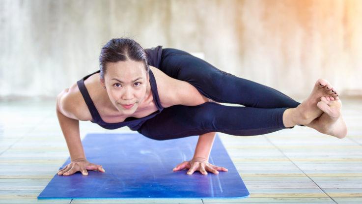 Hot Bikram jóga, jak zhubnout