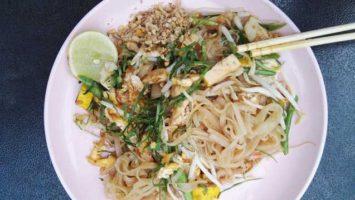 Jak smažit čínské nudle Recept pad thai