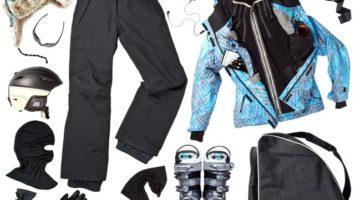 Jak správně uchovat lyžařské vybavení