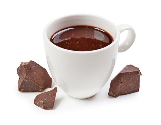 Horká čokoláda kalorie