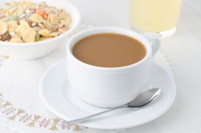 Mléčná káva kalorie